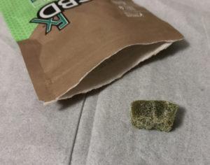 CBDfxの緑グミ